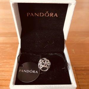 Pandora heart charm (silver)